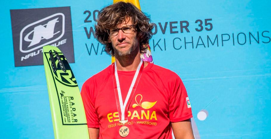 Campeón del mundo Ivan Morros Peyri