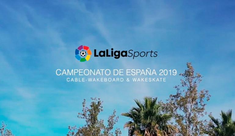 Campeonato de españa de Cable wakeboard 2019
